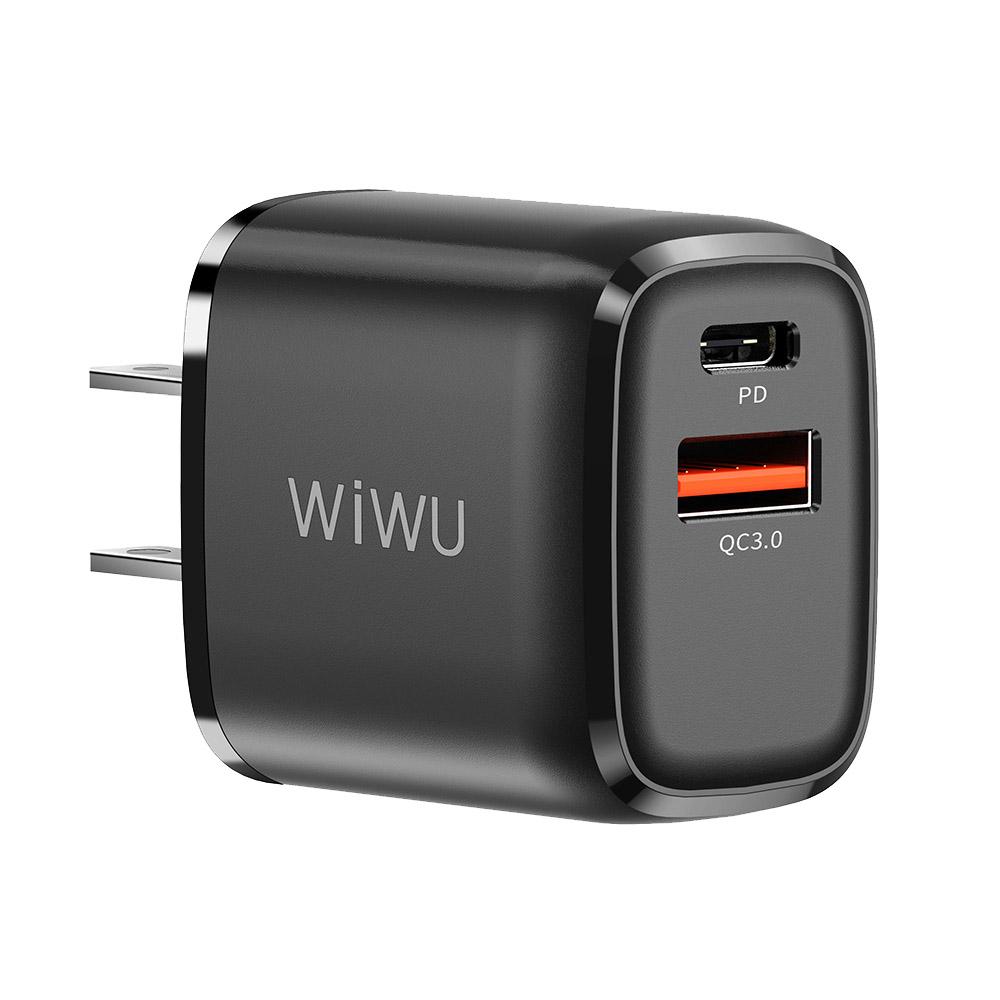 WiWU 20W雙模PD+QC3.0快充電源供應器