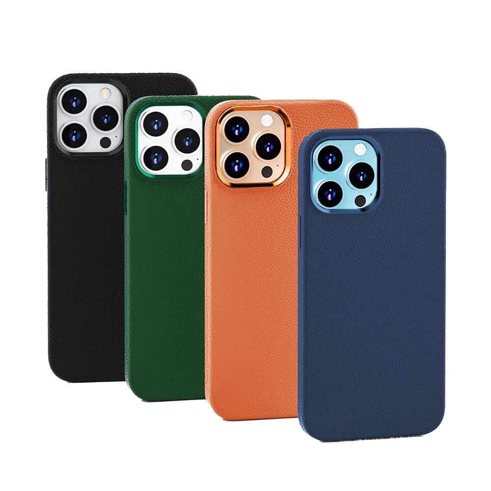 WiWU 真皮手機殼iPhone 13 PRO MAX-6.7吋 四色