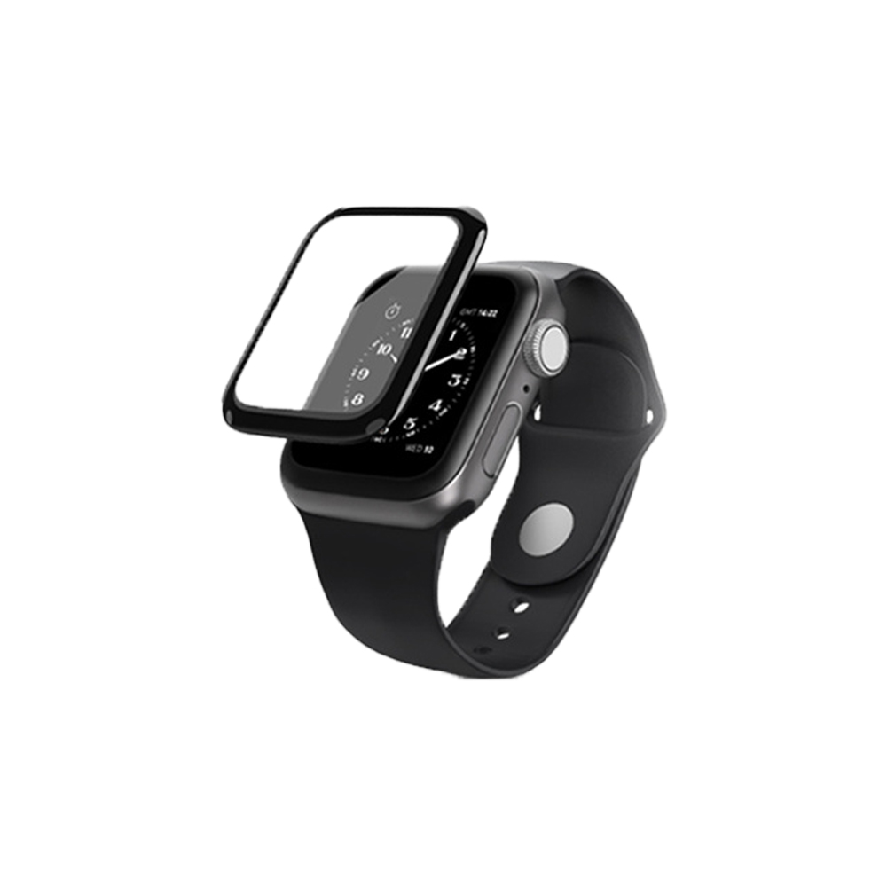 WiWU|全景系列-Apple Watch 手錶滿版類玻璃鋼化膜 40MM/44MM