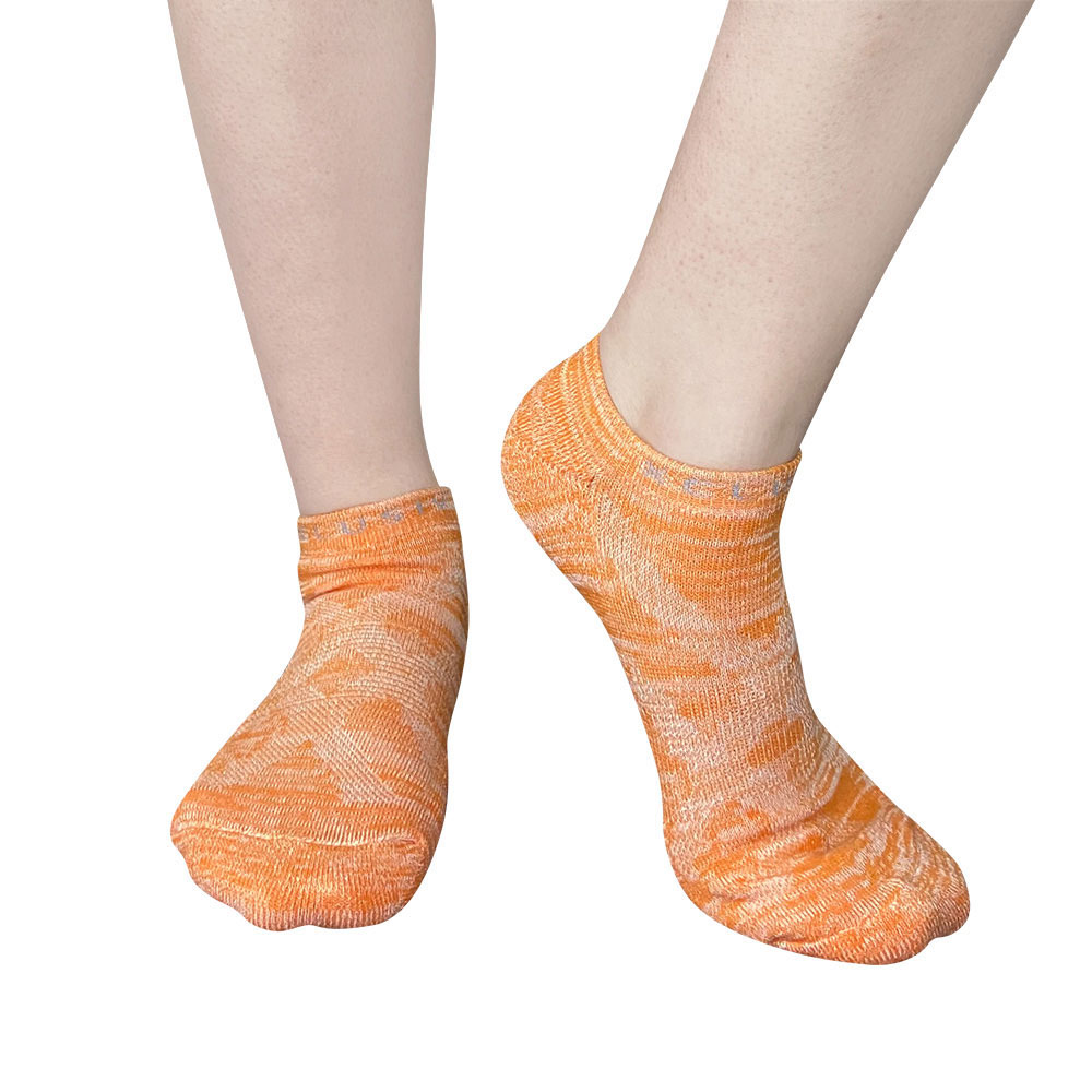 XCLUSIV|PREMAZN 抑菌除臭抗敏照護踝襪-奧地利天絲/氧化鋅(橘色)