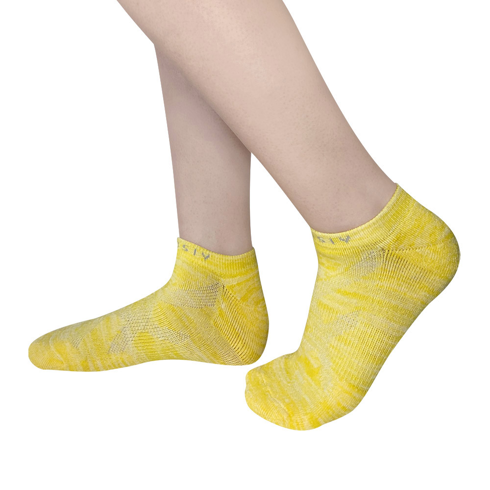 XCLUSIV|PREMAZN 抑菌除臭抗敏照護踝襪-奧地利天絲/氧化鋅(5雙組-黃+橘+黑+白+灰)