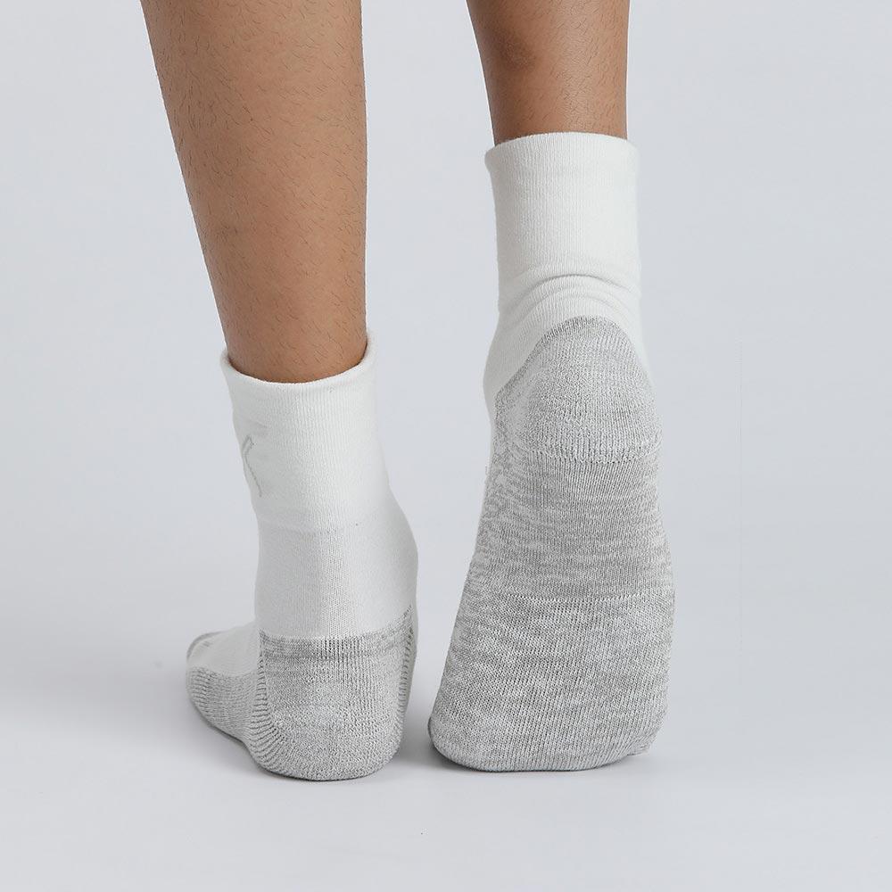 XCLUSIV CLIMAXAG可立滅 美國FDA銀纖維健康照護五趾襪(純淨白)