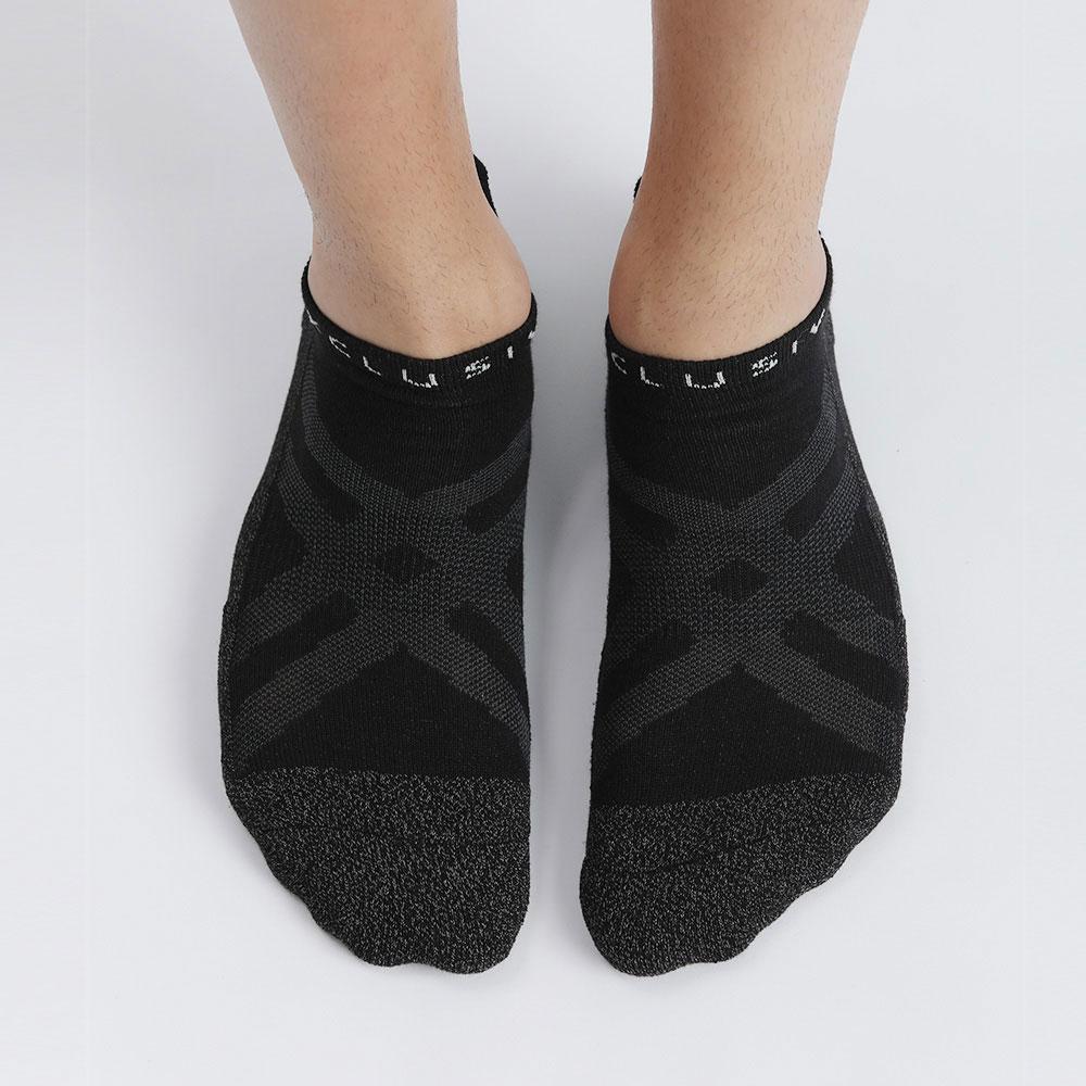 XCLUSIV|CLIMAXAG可立滅 照護船型襪(黑色)