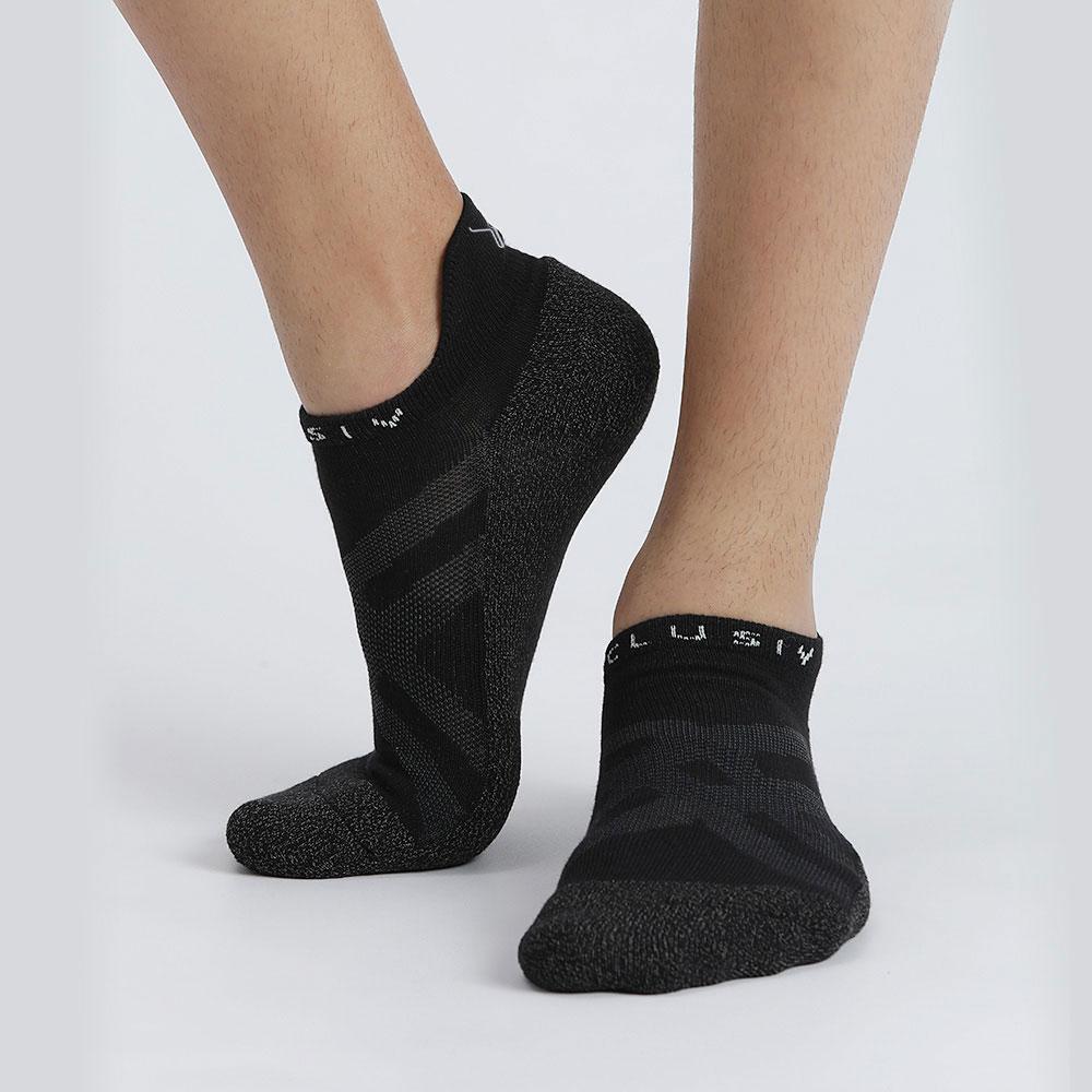 XCLUSIV CLIMAXAG可立滅 照護船型襪(3雙-黑色)
