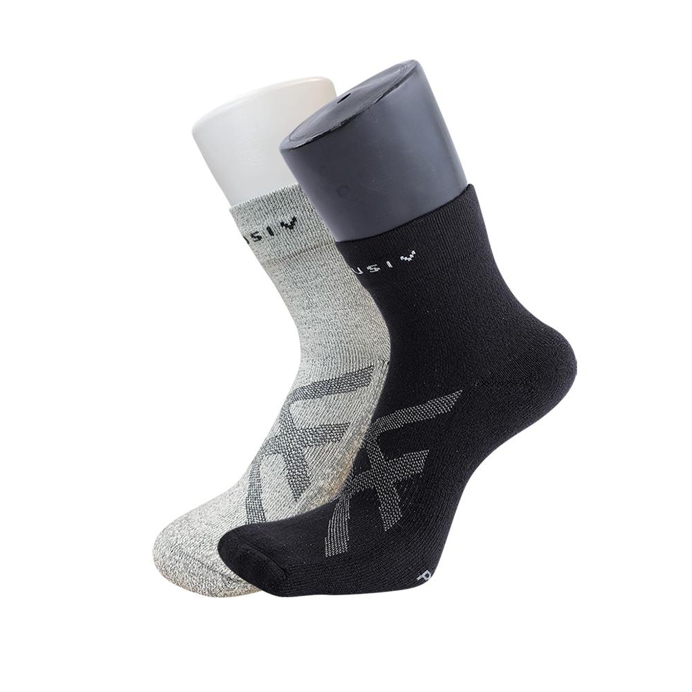 XCLUSIV|助眠襪組 高機能石墨烯襪+全方位鍺纖維遠紅外線保暖襪(2雙組)