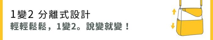 seisei 遛遛包-斜背包+托特包 二合一高機能收納 (雲石灰 Mist blue)
