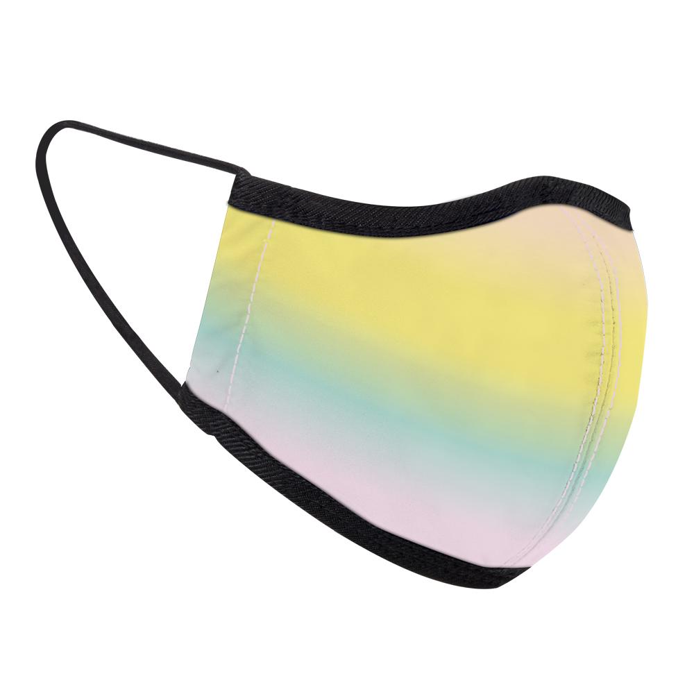 seisei 雙層抗菌纖維環保布口罩-天空(彩霞)