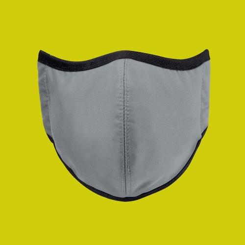 seisei 雙層抗菌纖維環保布口罩-玩色(極致灰)