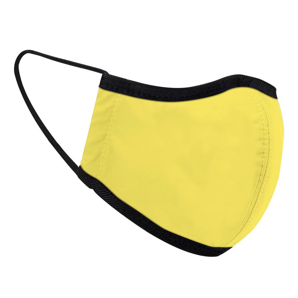 seisei|雙層抗菌消臭布口罩_專利銅元素+德國氧化鋅 (燦爛黃)