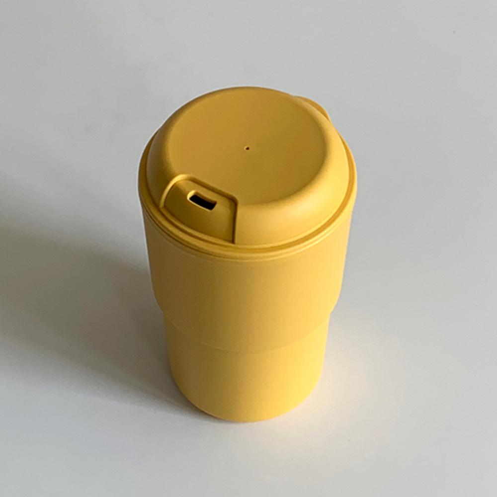 3MONTHS 悠仔隨行杯(黃色白線)