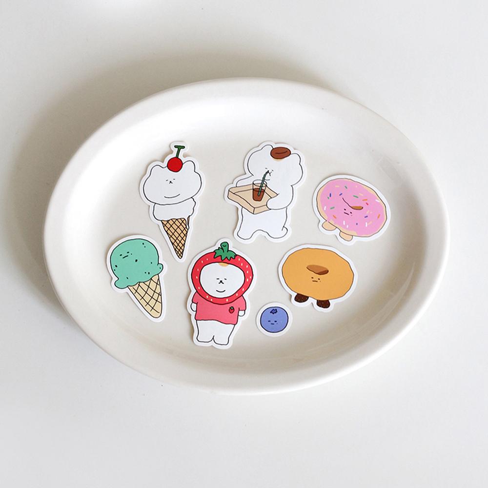 3MONTHS|悠仔甜甜圈貼紙組