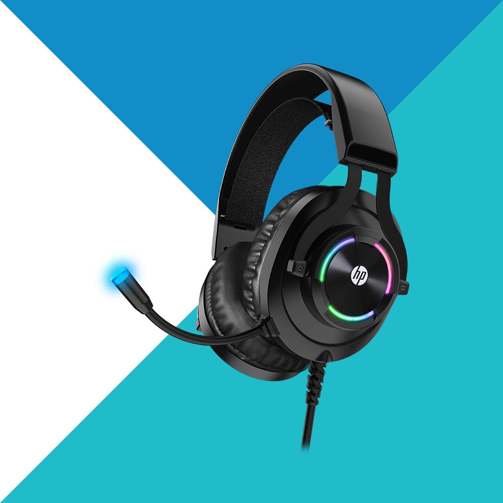 HP 惠普|7.1 USB有線電競頭戴式耳機 H360GS