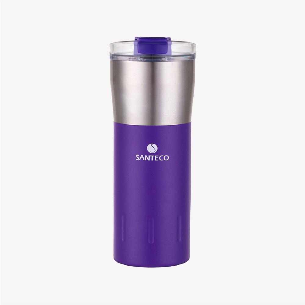 SANTENCO|KARIBA 透明上蓋保溫杯 500ml (紫羅蘭)