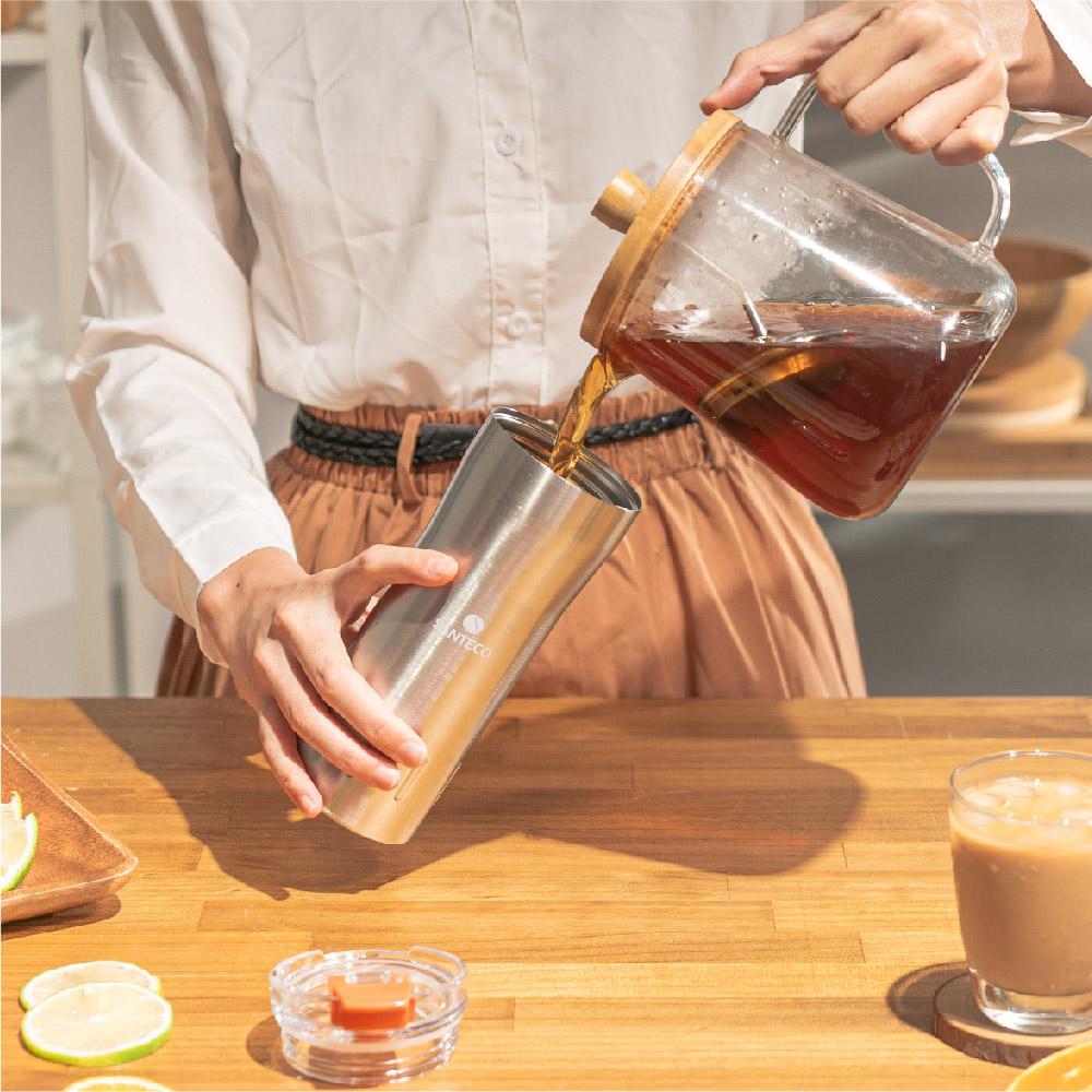 SANTENCO KARIBA 透明上蓋保溫杯 500ml (不鏽鋼)