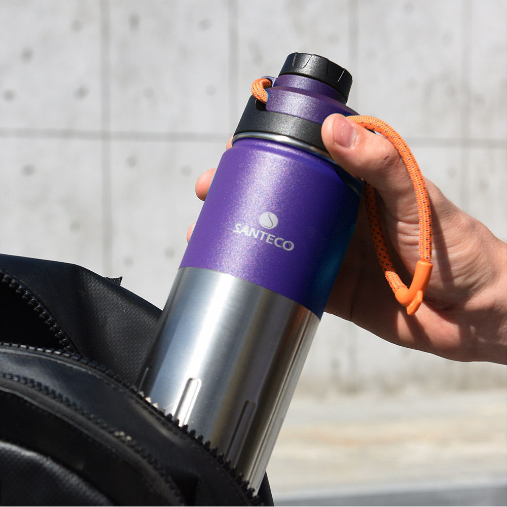 SANTENCO|KTWO 戶外保溫瓶 500ml(紫羅蘭)