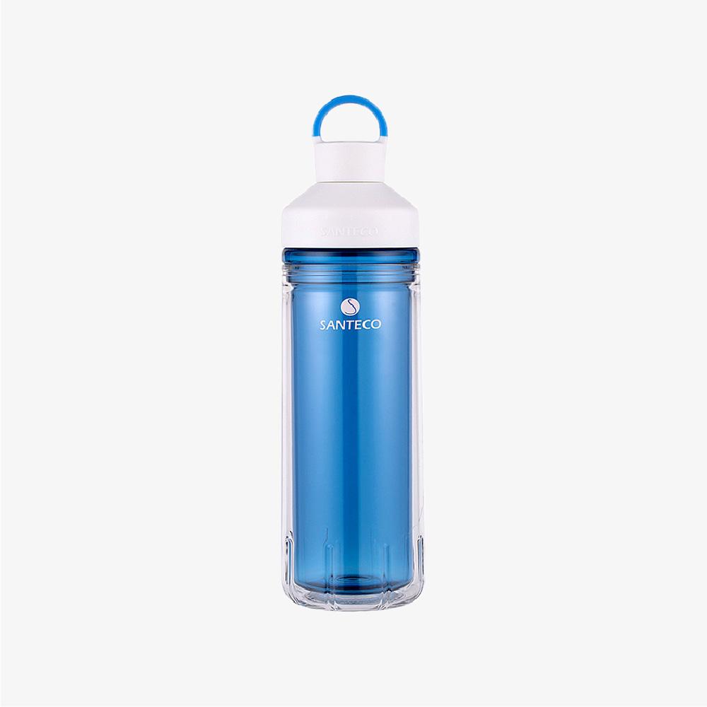 SANTENCO|OCEAN TRITAN 雙層冷水瓶 590ml (海灣藍)