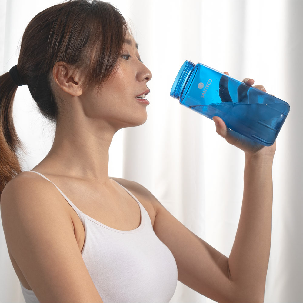 SANTENCO OCEAN TRITAN 單層冷水瓶 710ml 1+1組合 (海灣藍)