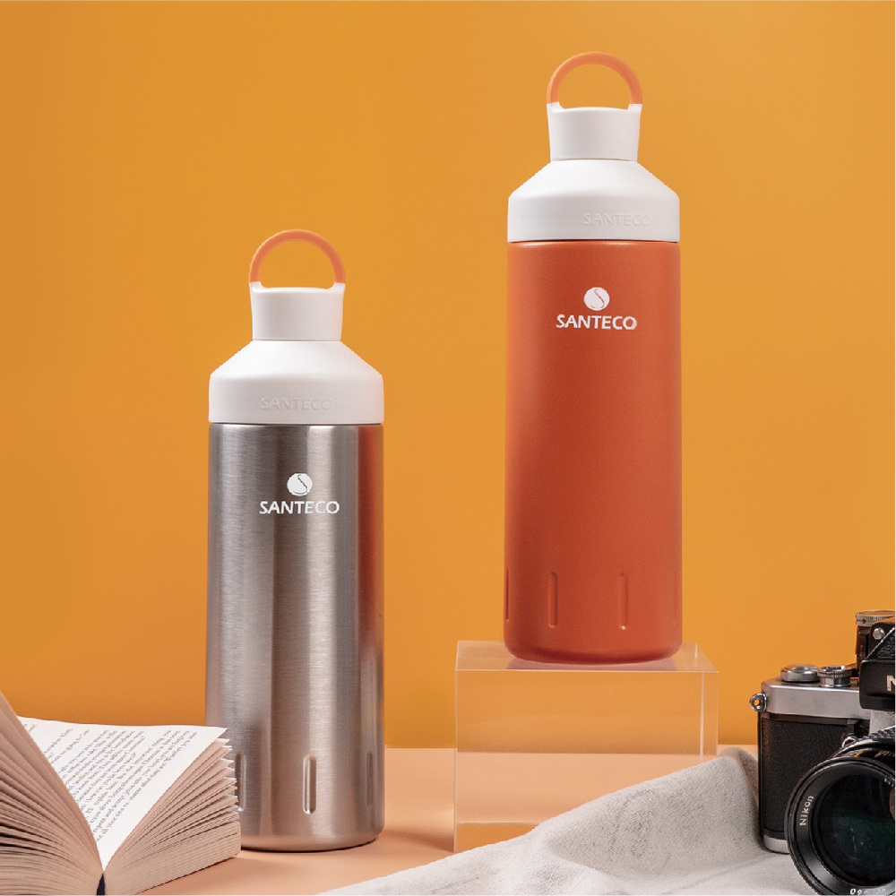 SANTECO|OCEAN 保溫瓶系列 590ml(琥珀橙)