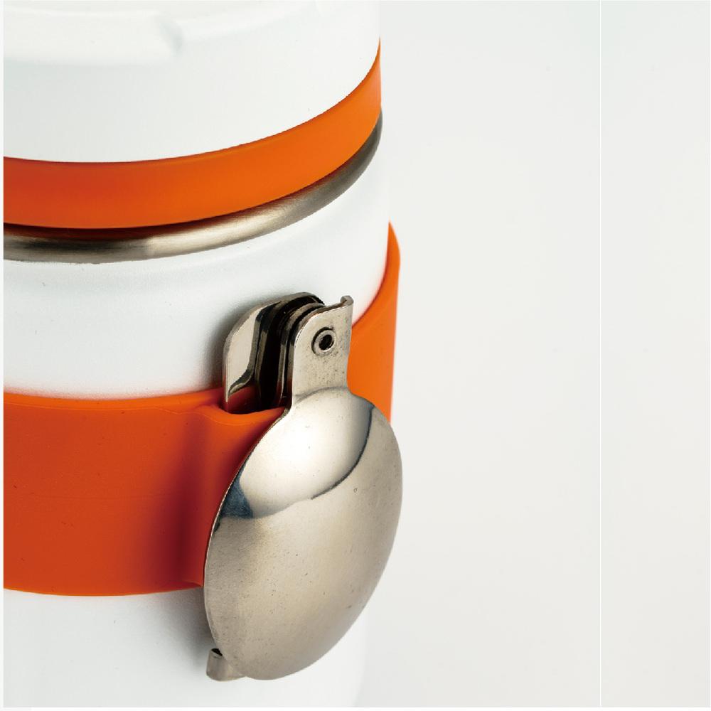 SANTECO|KOGE 燜燒罐附摺叠湯匙 500ml (牛奶白)
