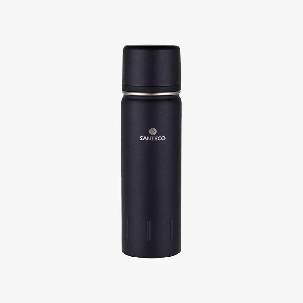 SANTECO|KOLIMA  大容量雙層真空保溫瓶 1000ml(碳黑)