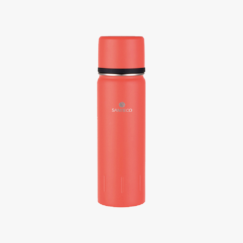 SANTENCO KOLIMA  大容量雙層真空保溫瓶 1000ml(橙果紅)