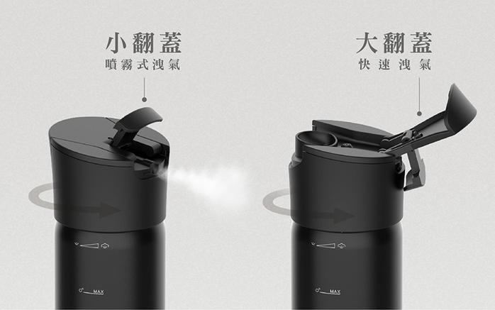 RICHMORE|RichSoda氣泡水隨手瓶-不鏽鋼款(旋蓋)