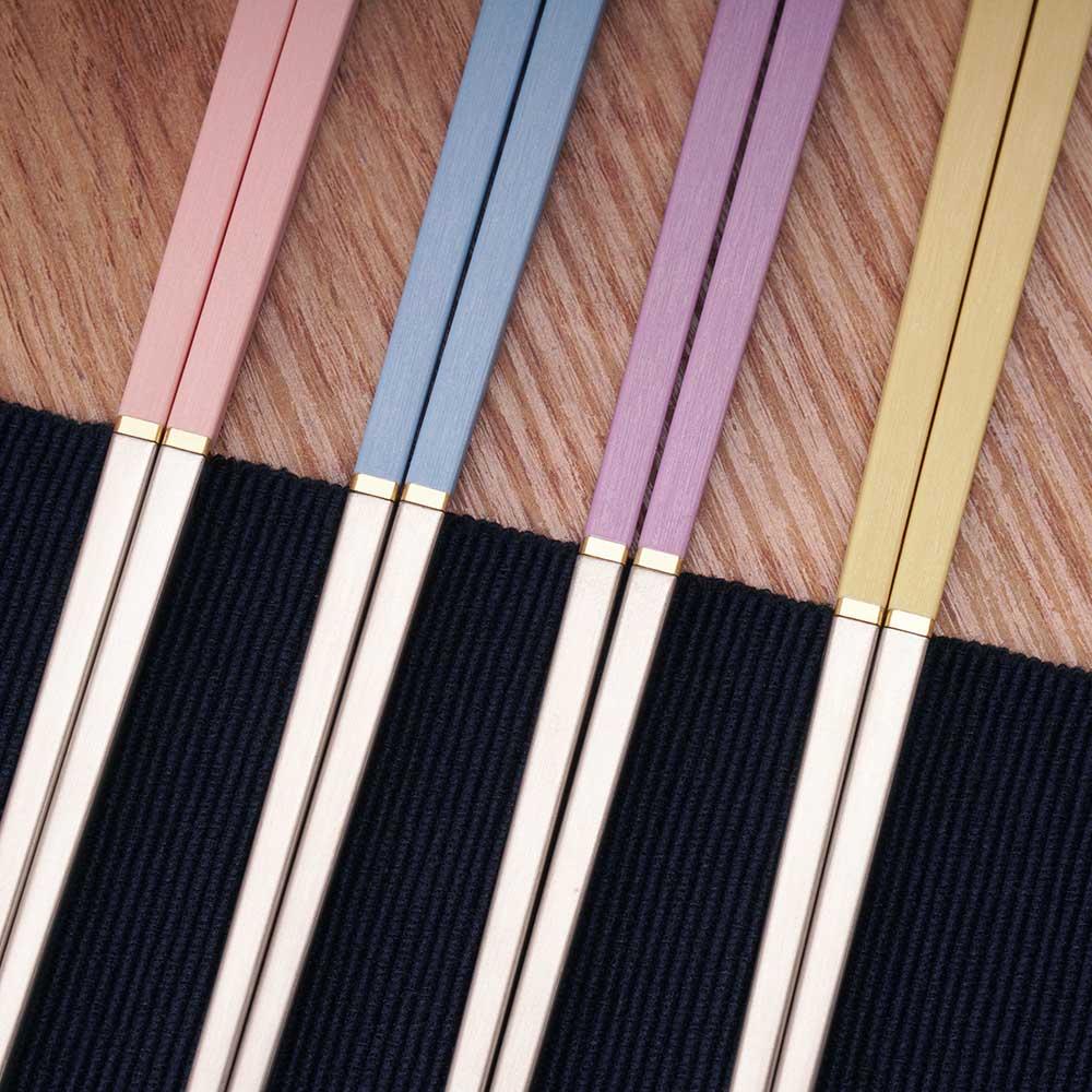 LAYANA 台灣第一筷|BaoQuai 寶筷 零接觸隨身筷(夕陽紅)
