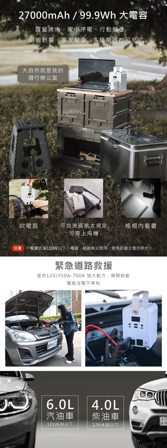 【集購】Roommi|多功能行動電源供應器