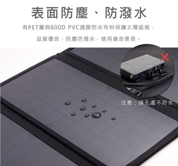 Roommi 60W太陽能充電板