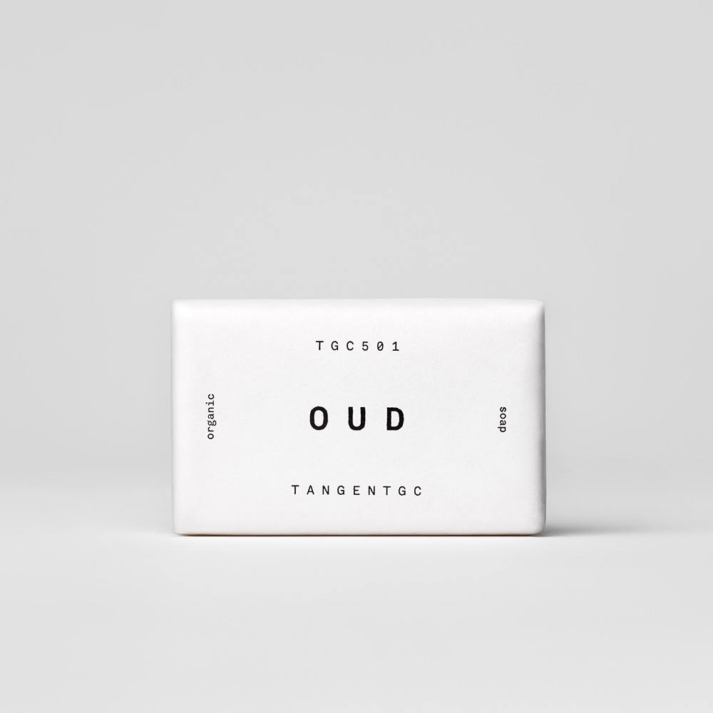 TANGENTGC TGC501《木沉悟身》香氛皂 Oud Organic Soap Bar